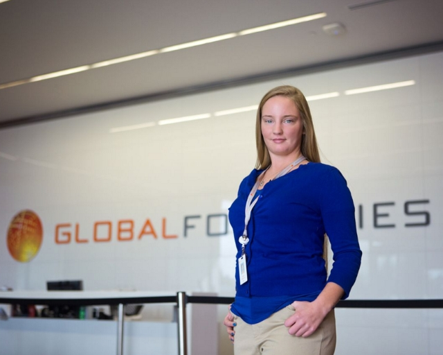 Ginger Williams, class of 2016  Engineering Science, AS degree  Process Technician at Global Foundries