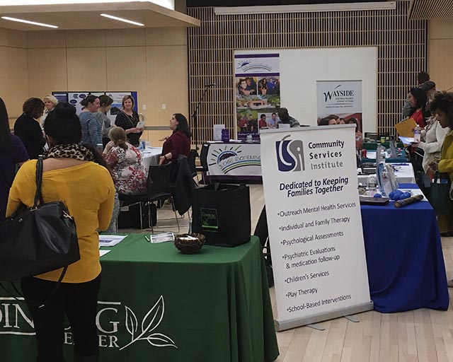 Prospective employers share opportunities with students on campus