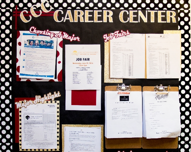 Check out job opportunities and career information on the CRC bulletin board