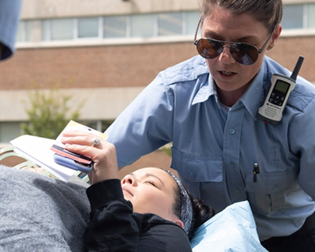 Coastal Carolina Community College EMS Students