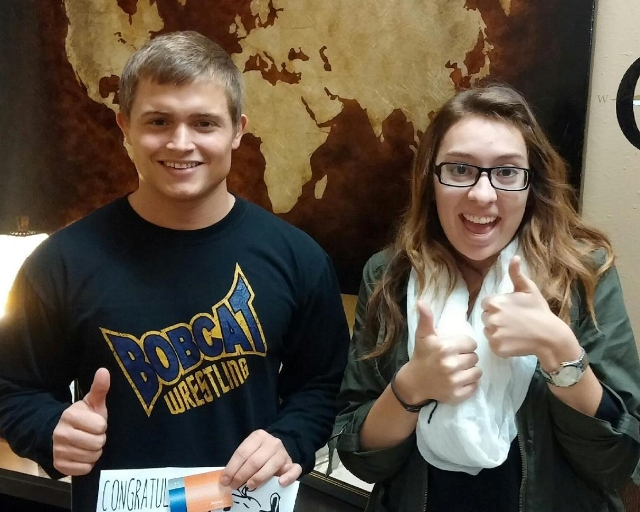 The Career Center is Two Thumbs up!
