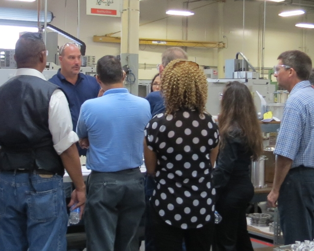 Annual Manufacturing Tour led by East County Economic Development Council