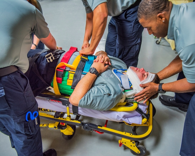 "EMT/Paramedic Profession Program: Designed to integrate both theory and practical ""hands-on"" educational experiences."