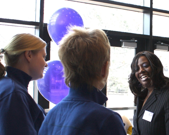 Recruit students through a various events and career fairs