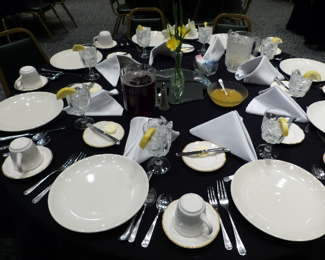 Etiquette Luncheon sponsored by Career Services