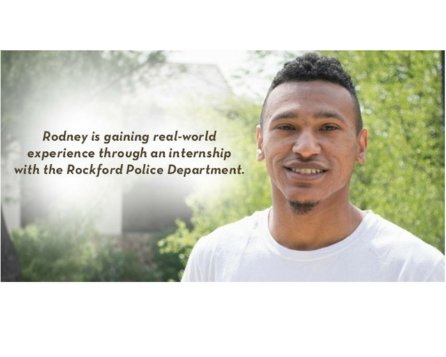 Rodney - Intern at Rockford Police Department