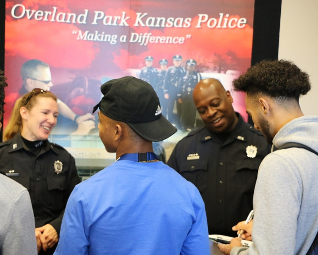 Career Fair with OP Police