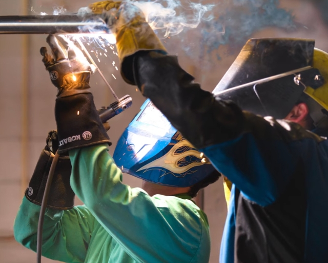 MTC's School of Advanced Manufacturing and Skilled Trades offers many career options, from the automotive industry, to graphic design production, machine tooling, welding technology, and many others.