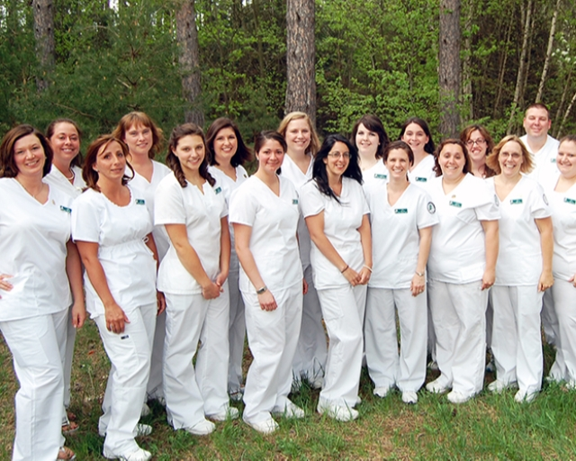 Our programs give you the opportunity to complete the requirements to become a registered professional nurse (RN) in two years - first completing the requirements to become a licensed practical nurse.