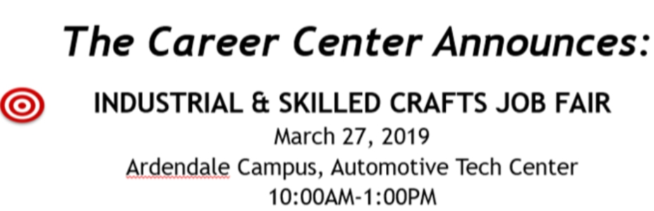 Industrial and Skilled Crafts Job Fair