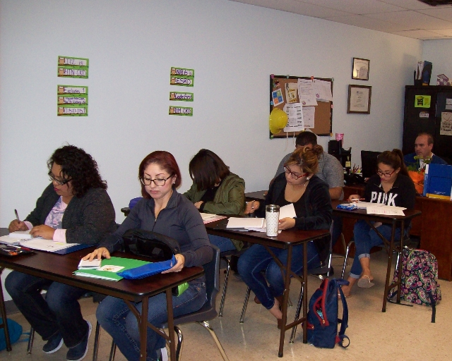 A day in the classroom at RGV Careers