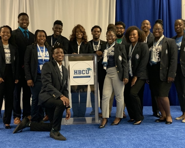 Students attending HBCU Career Development Conference