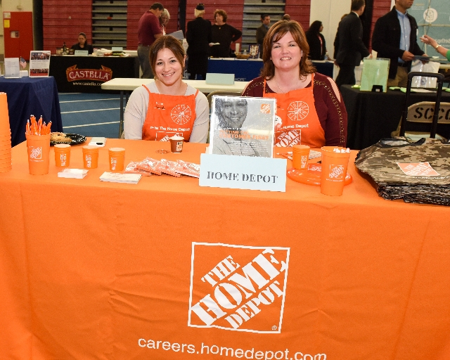 Photo of Home Depot at Career Fair