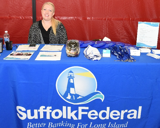 Photo of Suffolk Federal Credit Union at Career Fair