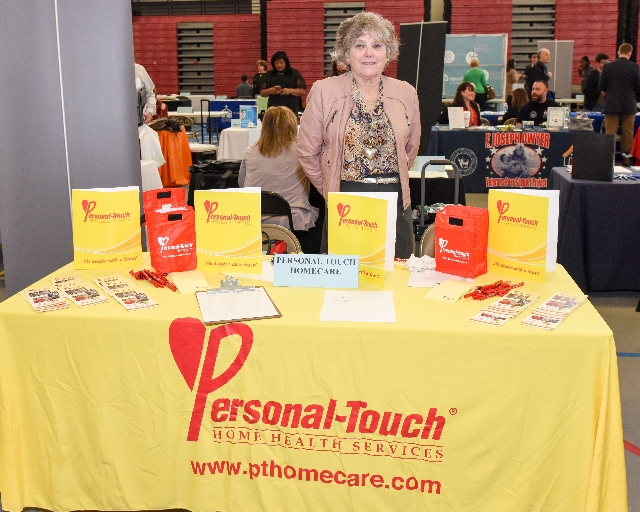 Photo of Personal-Touch Home Health Services at Career Fair