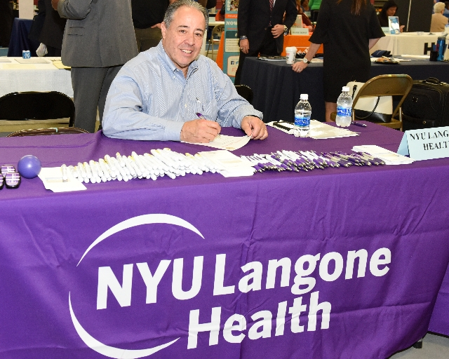 Photo of NYU Langone Health at Career Fair