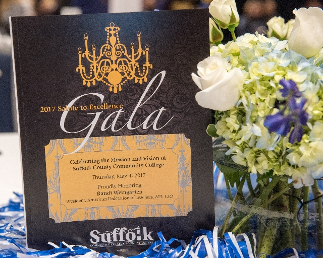 Photo of Salute to Excellence gala card