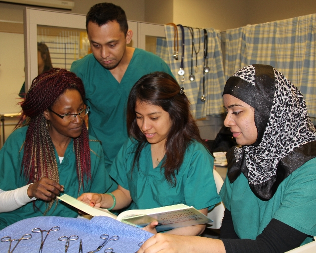 SJCC Medical Assistant Students