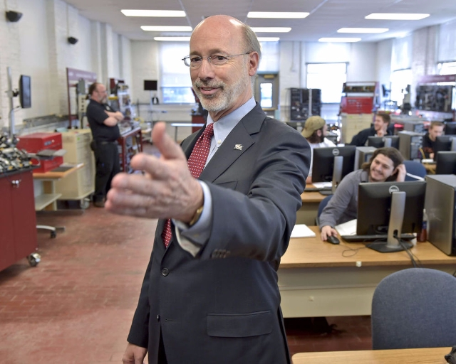 Governor Wolf visits campus!