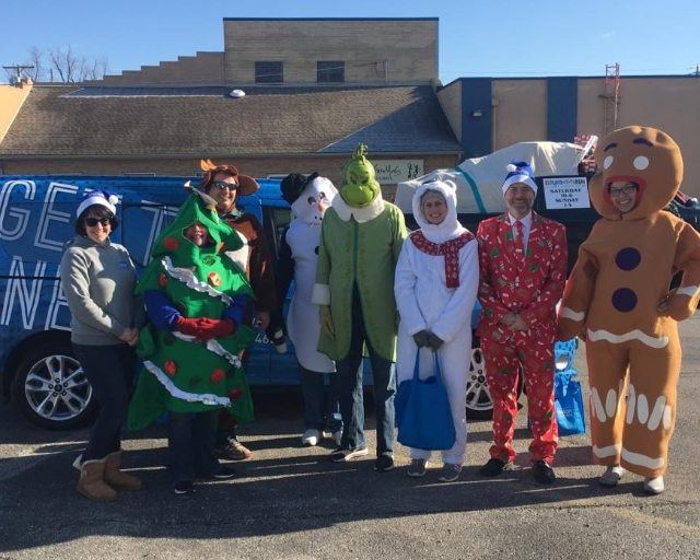 MTC staff & students in the holiday parade