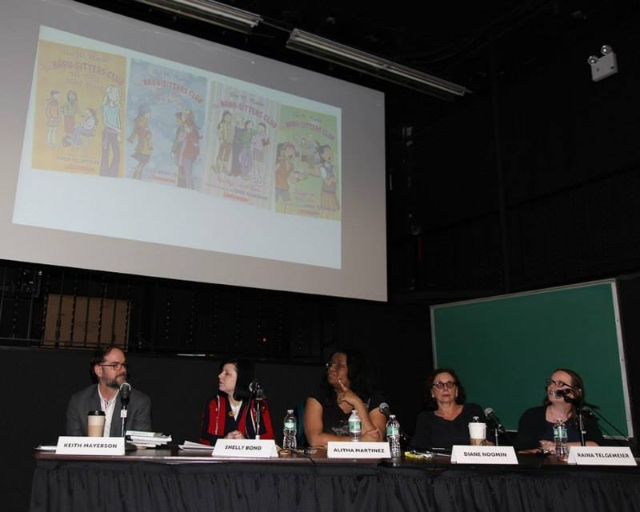 Strong Female Protagonists: Women in Comics Panel, 2014 (photo cred: Martin Mendizabal)
