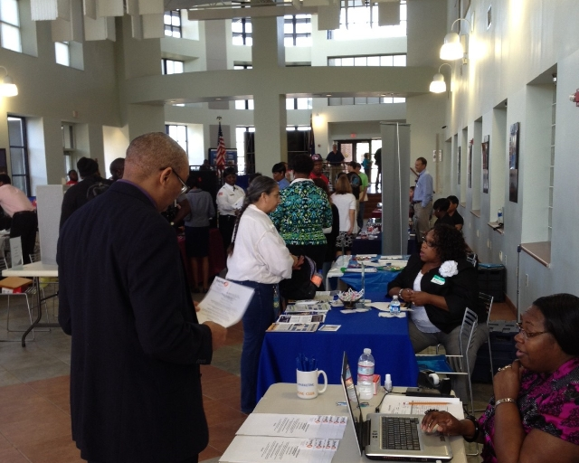 Career Events connect our students with local employers.