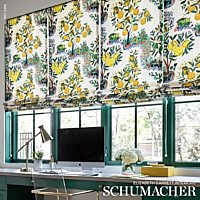 schumacher citrus garden fabric