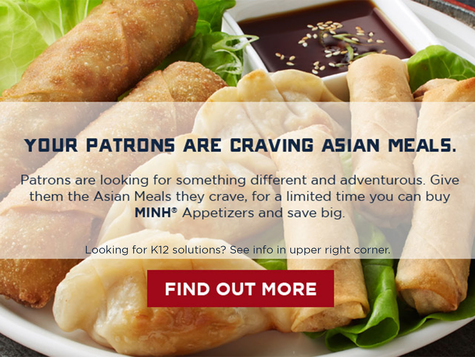 Minh Appetizers