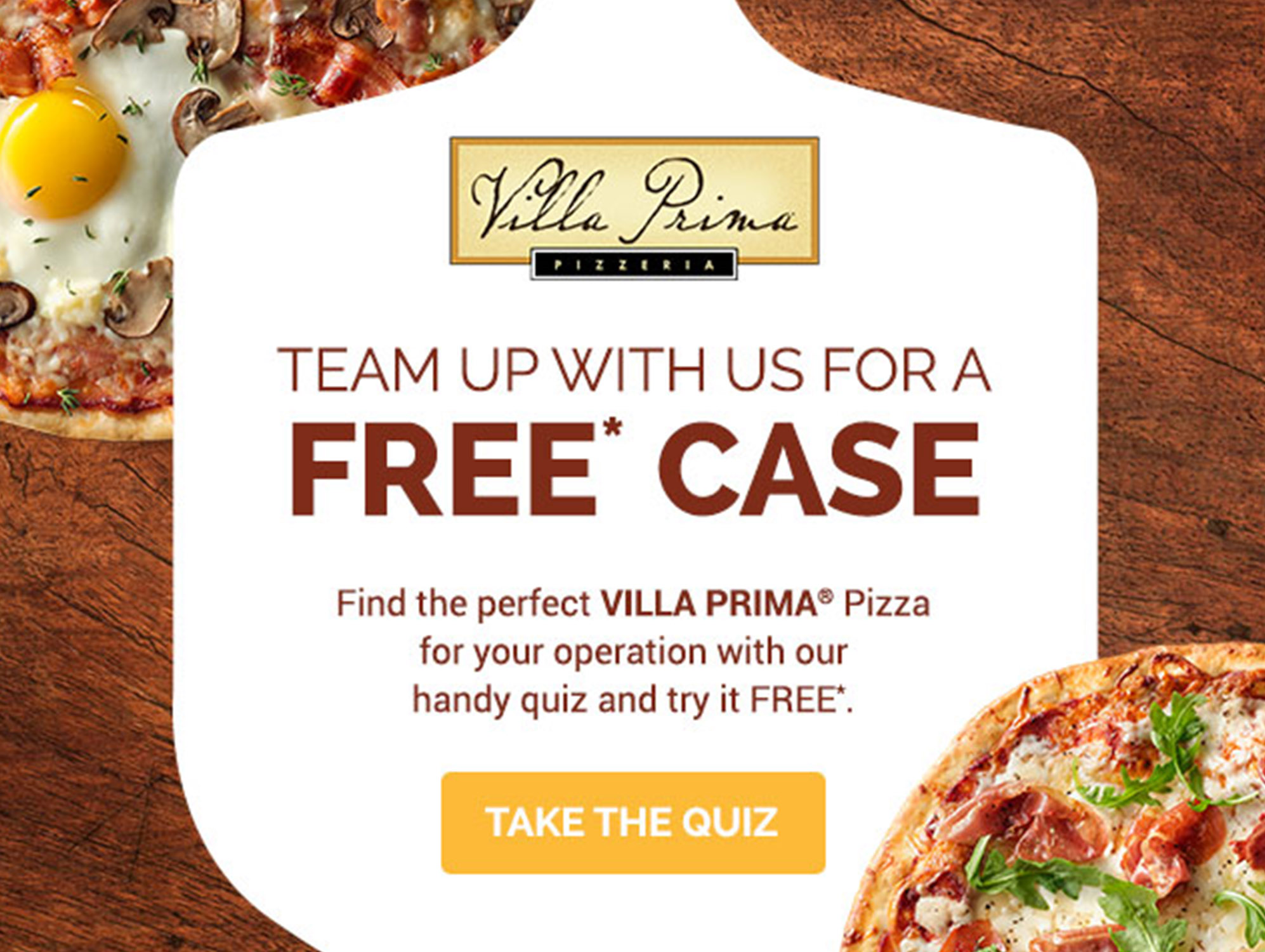 Villa Prima Free Case Offer