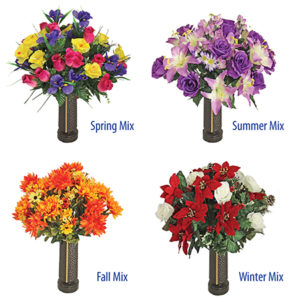 Seasonal Floral Tribute program flowers