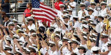 Buy Navy Midshipmen Football tickets at ScoreBig.com