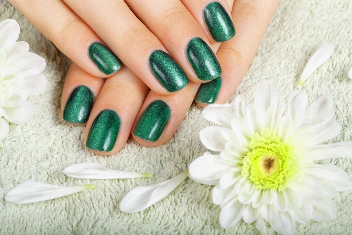 Kelly and Sage Green