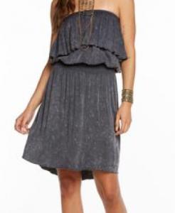 Hi-Lo Ruffle Dress