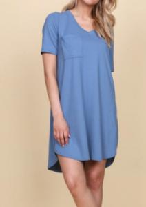 T-Shirt Pocket Dress