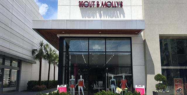Front of the building at Scout and Molly's of Town Center