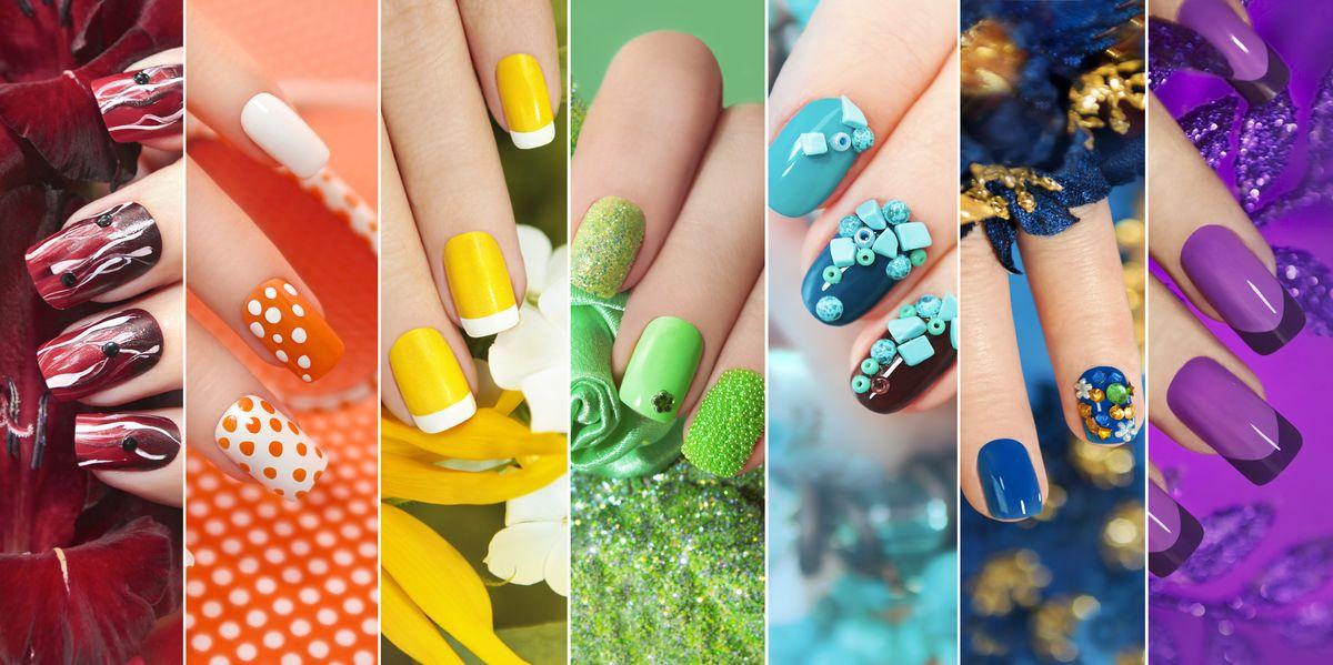 Nail art or basic nail colors