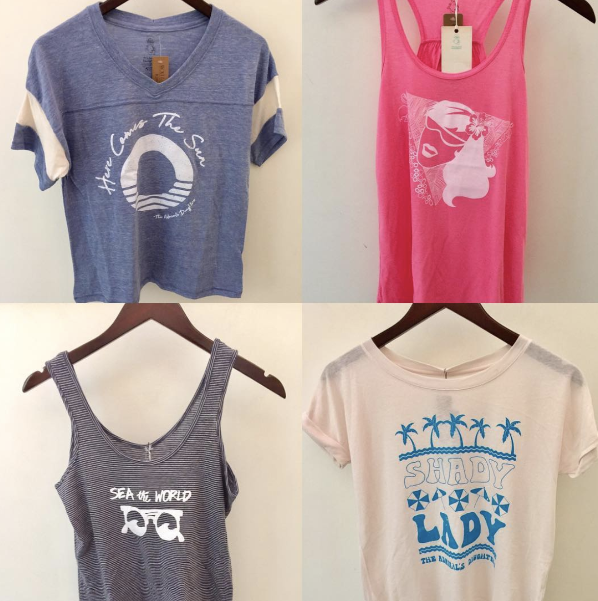 1. The Admiral's Daughter Locally Made Tees And Tanks