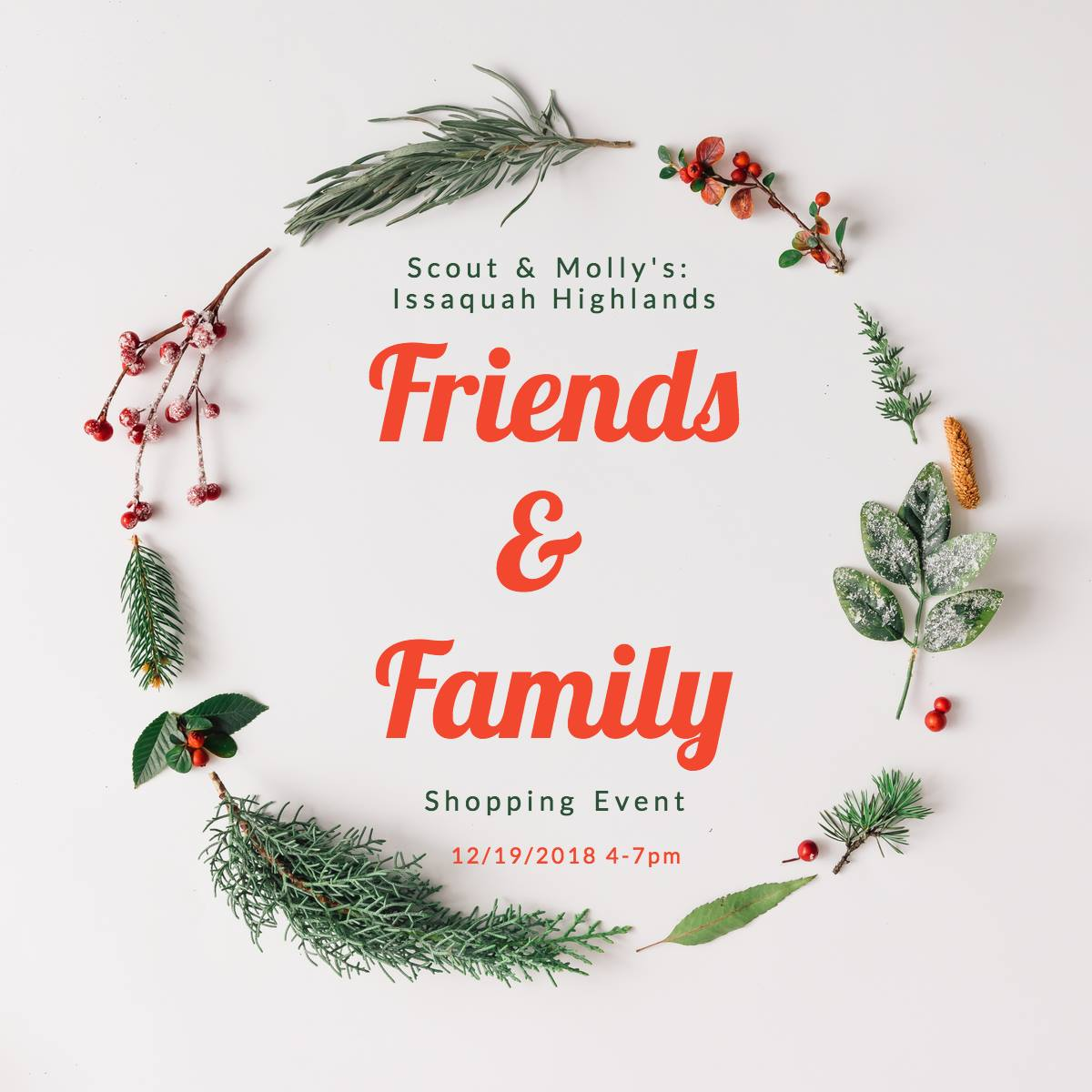 Friends & Family Event: 25% off your purchase plus free gift!