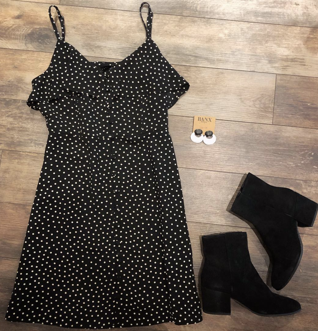 Sanctuary Clothing Polka Dot Dress