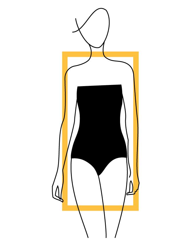 Rectangular Body Shapes