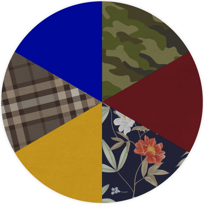 Fall Fashion Color Wheel