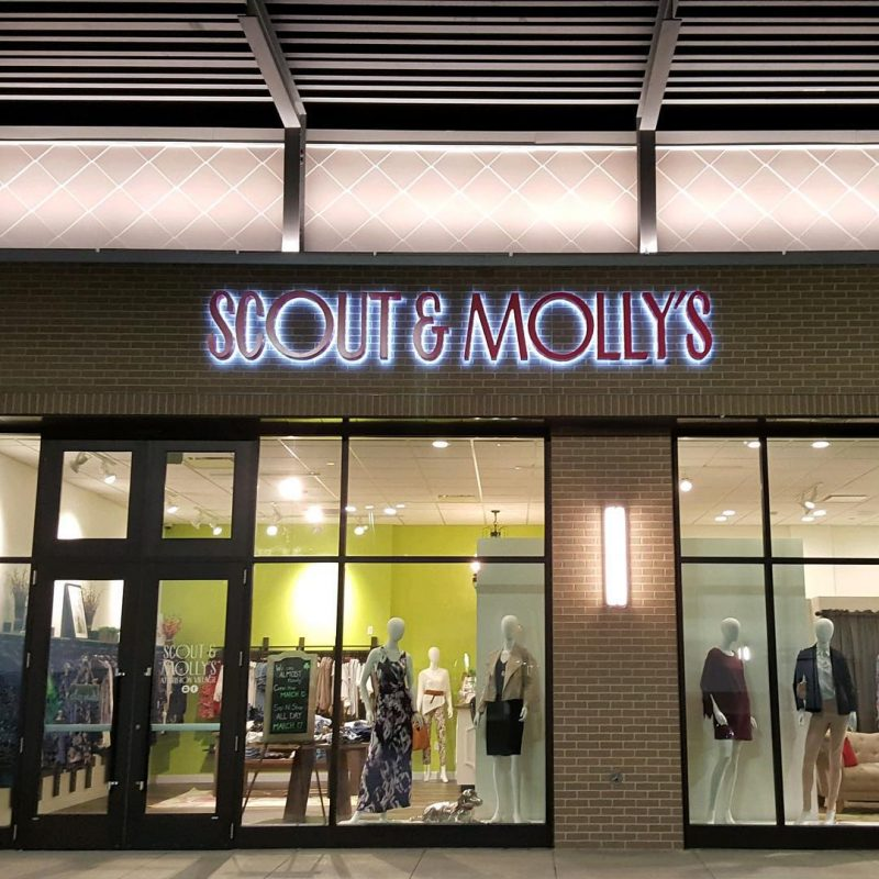 Scout and Molly's Boutique in Breton Village