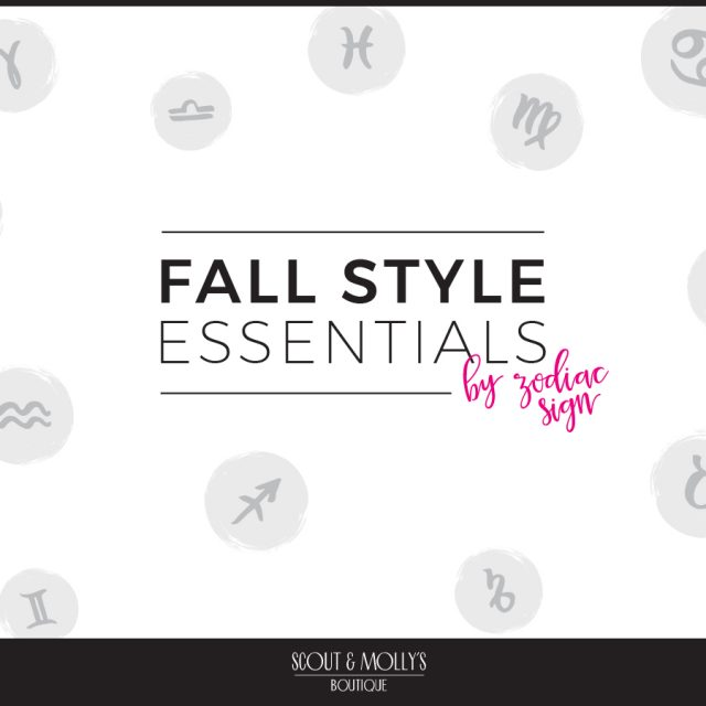 Fall Fashion Style from Your Horoscope