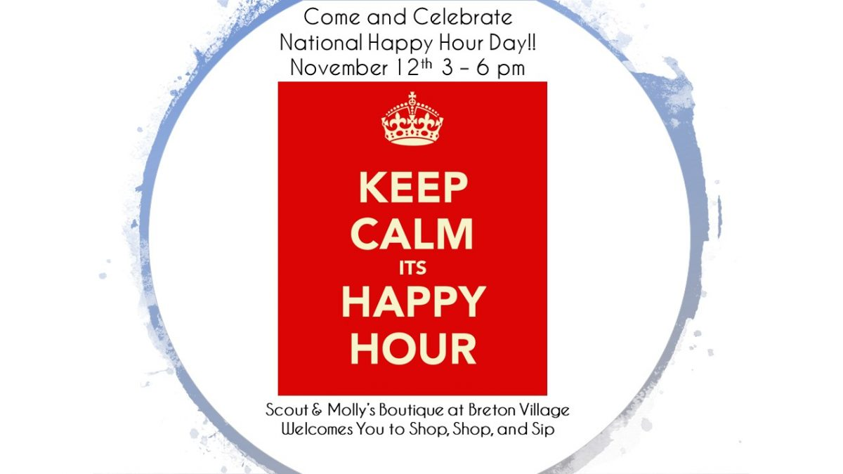 Keep Calm, It's Happy Hour!