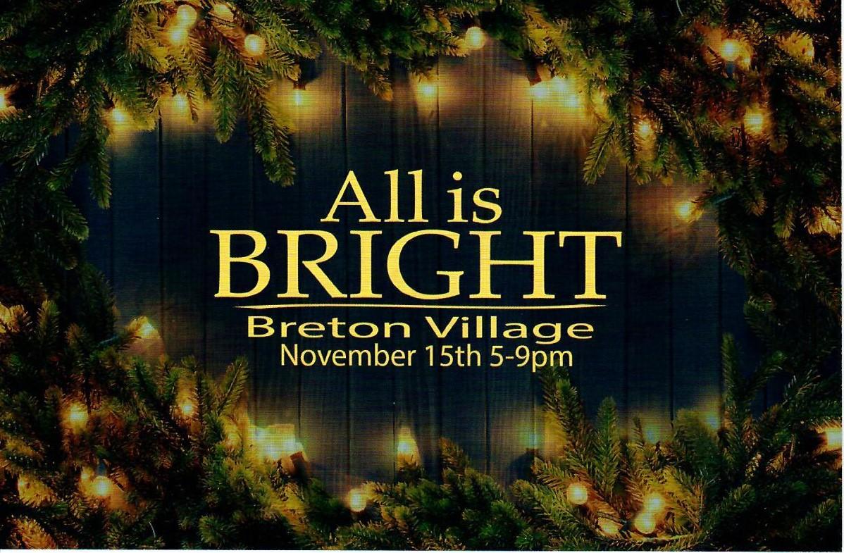 All is Bright at Breton Village