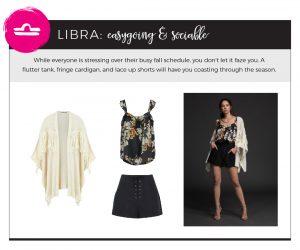 Fall 2018 Fashion on Your Horoscope - Libra