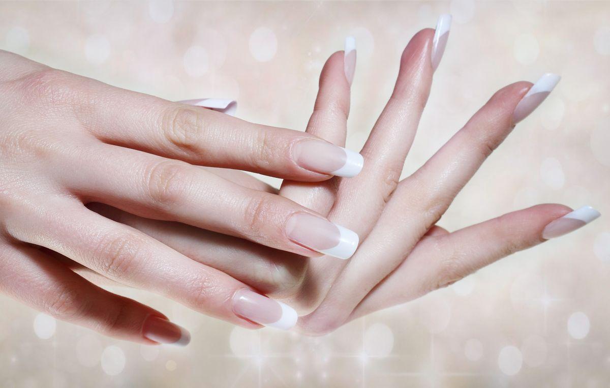 Longer Nails For A Long Dress