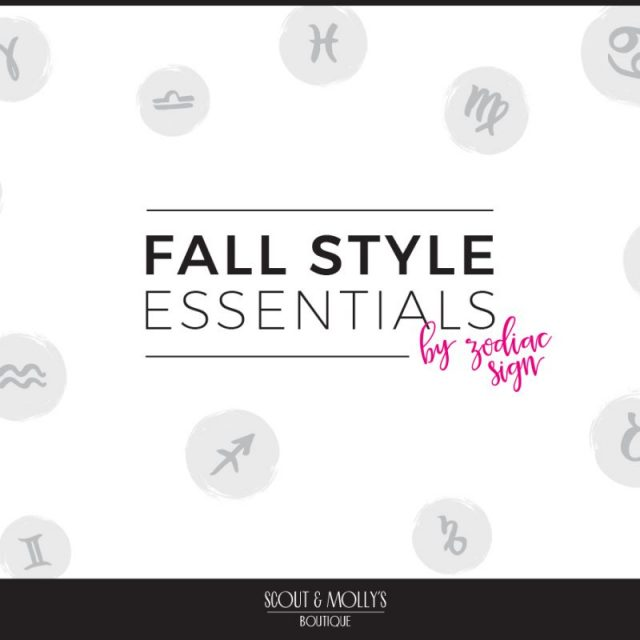 Find Fall 2018 Styles with Your Sign