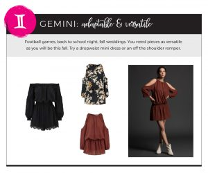 Find Fall 2018 Styles with Your Sign - Gemini