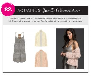 Find Fall 2018 Styles with Your Sign - Aquarius